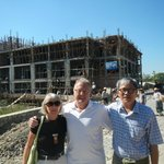 Mr Maung Thin's New Hotel (He is on the Right)