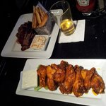 Buffalo wings and BBQ