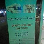 Bus service to Yangon $9