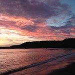 sunset at Snake Bay