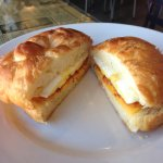 Bacon Egg & Cheese croissant