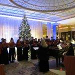 Concierto de Navidad en el hall