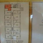 foto disposição dos quartos
