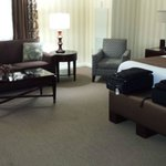 Spacious and spotless room