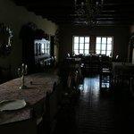antique dining