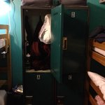 Large Lockers in the rooms -- bring a lock