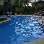 Pool Area at Playa Negra Guesthouse!