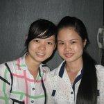Hoa and Phuong Ly