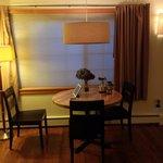 Calvos Suite Dining Area