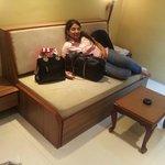 hall sofa cum bed dining area