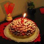 Questa torta era di una fantastica delicatezza che non scorderò.