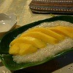Mango sticky rice - delicious!