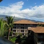 uitzicht berg/vulkaan