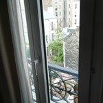 Blick zum Pariser Hinterhof