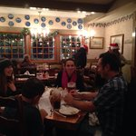 "Foreigners From Europe Enjoying ""Bit 'O Denmark Restaurant In Solvang, CA"