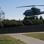 Helicopter and The Wall