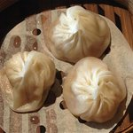 Steamed juicy pork xiao long bao, can be improved.
