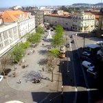 Praça da Batalha, visto da varanda do apto.