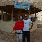 Я и Махмуд-самый лучший смотритель -спасатель на пляже !