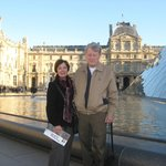 a short walk to the Louvre