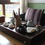 Tea Area in lobby