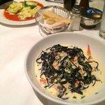 Delicious pasta at Biaggi's