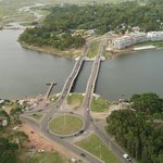 Puente ondulante de la Barra de Maldonado