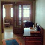 Vestibule with wardrobe and sideboard.
