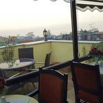 Terrace with the view on the Marmara Sea