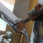 corroded plumbing fixtures