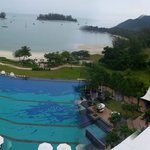 Panoramic view from our viceroy room