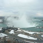 View of Niagara Falls from the room