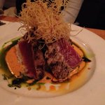 Ahi tuna with amazing flavors