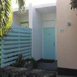 door to Villa 107