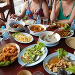 Lunch at Panyee Fishing Village