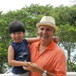 Aí está o Tio Paulo que ganhou especial atenção do meu filho!