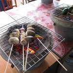 BBQ-ing the mushroom