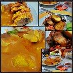 Ngo Hiang campur (mix) and Nasi Campur