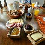 Exelente desayuno, todo casero