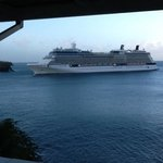 Cruiseships are welcome in Castries