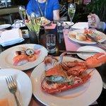 Lobster, sushi