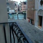 Partial view of the Grand Canal