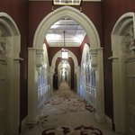 Hallway to Chambers rooms