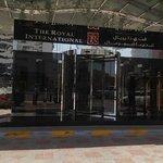 entrance to the royal international - abu dhabi