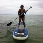 paddleboarding is quite easy. Especially on the calm water.