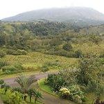 Vista al volcan
