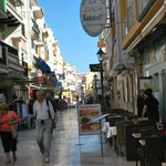 Shops in town centre Torremolinos