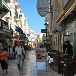 Shops in town centre Torremolinos