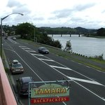 View from the Balcon to Wanganui River