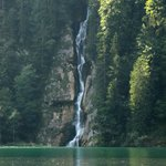 Konigsee Lake - waterfall
